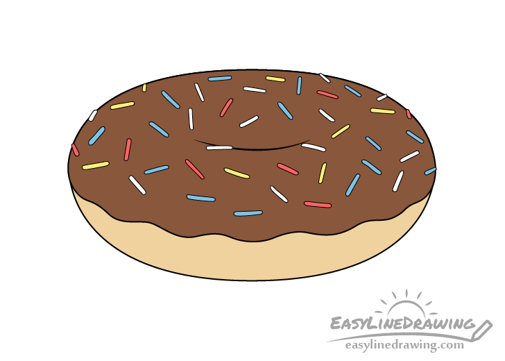 Doughnut Drawing