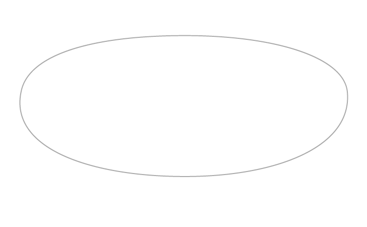 Pizza outline drawing