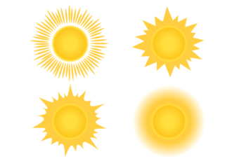 How to Draw the Sun in Different Ways