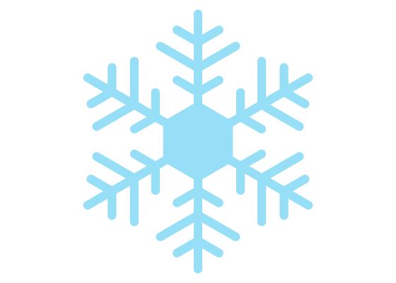 Snowflake drawing tutorial