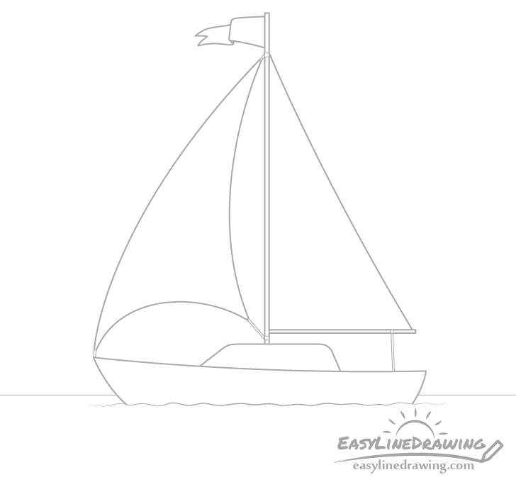 Boat details drawing