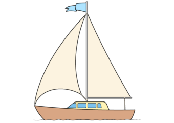 How to Draw A Boat Step by Step
