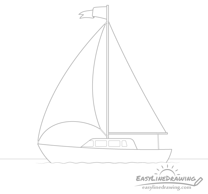 Boat windows drawing