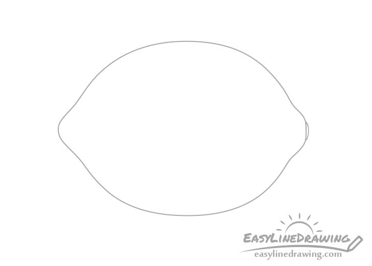 Lemon tip drawing