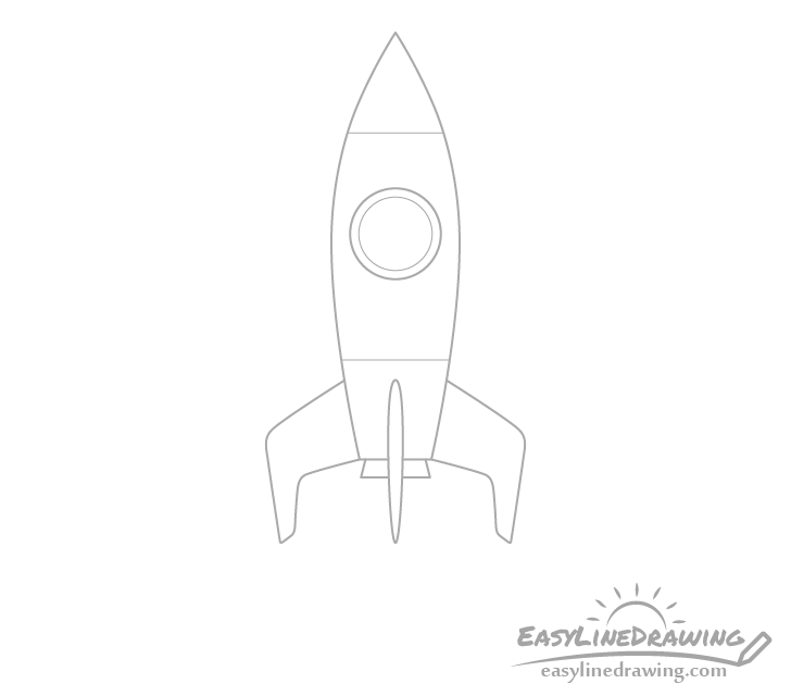 Rocket details drawing