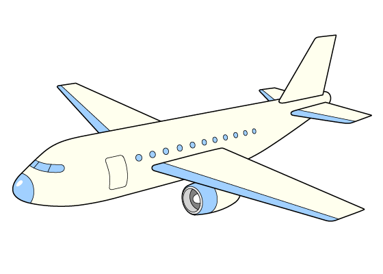 Airplane drawing tutorial