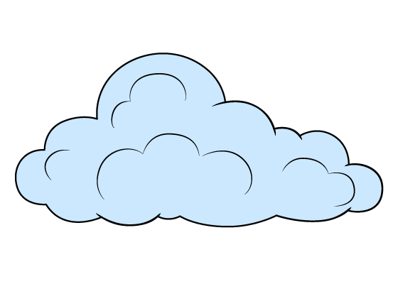 Cloud drawing tutorial