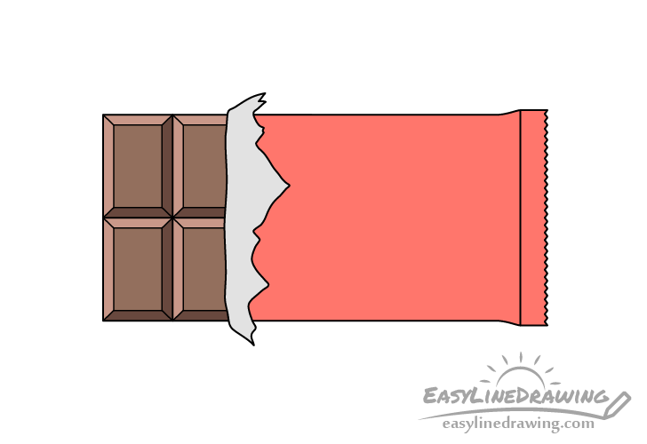 Chocolate bar drawing