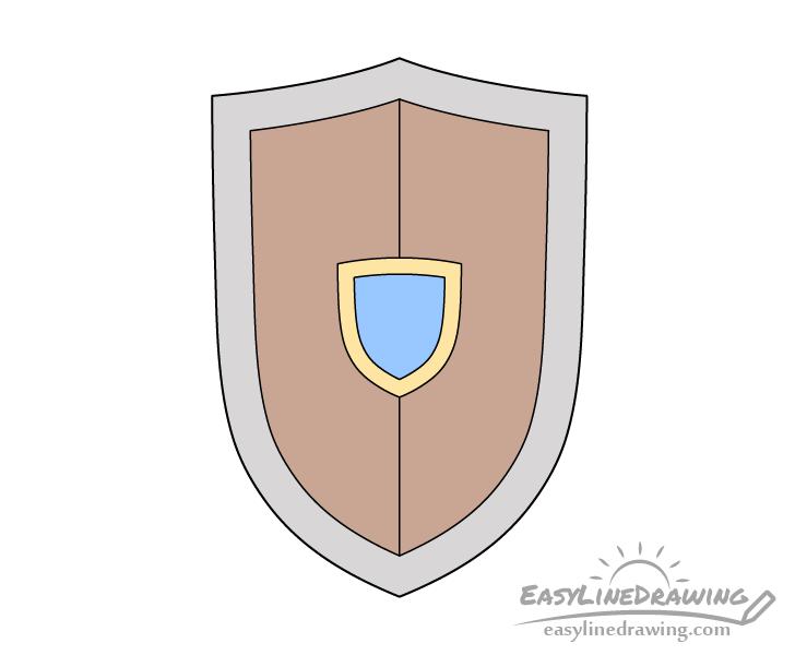 Shield drawing