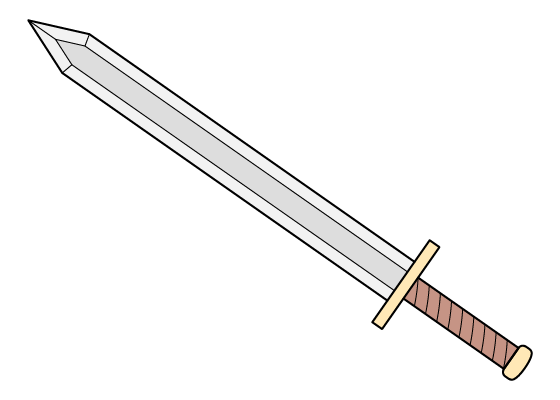 Sword drawing tutorial