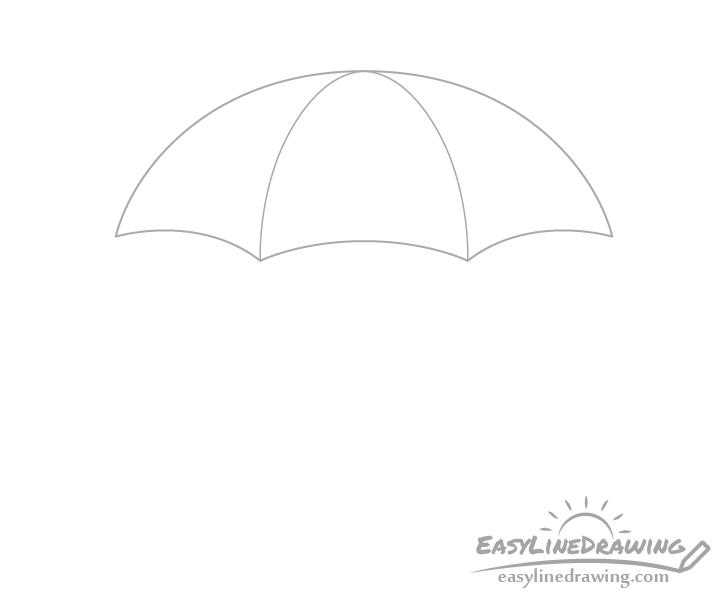 Umbrella sections drawing