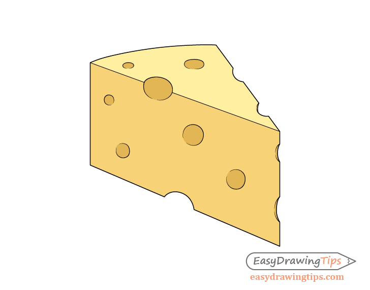 Cheese drawing