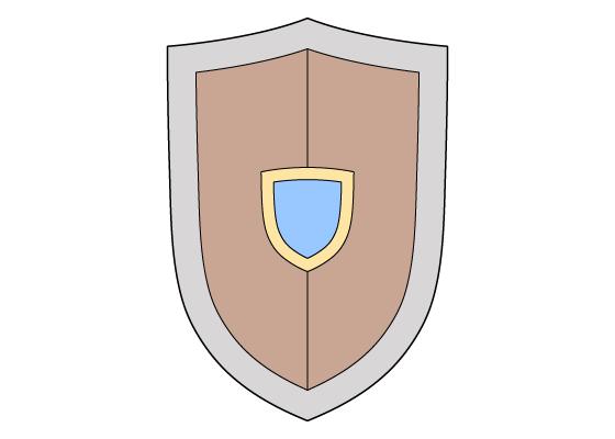 Shield drawing tutorial