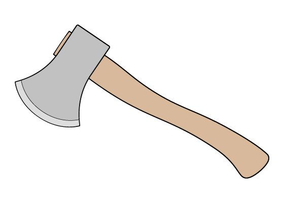 Axe drawing tutorial