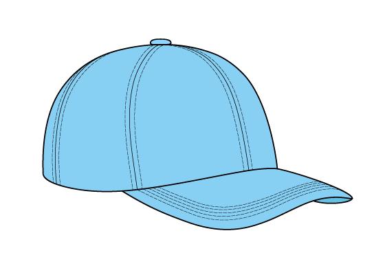 Baseball cap drawing tutorial