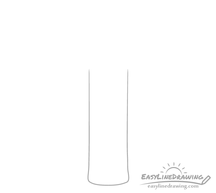 Candle stick drawing