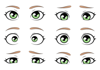 How to Draw Eye Expressions Step by Step