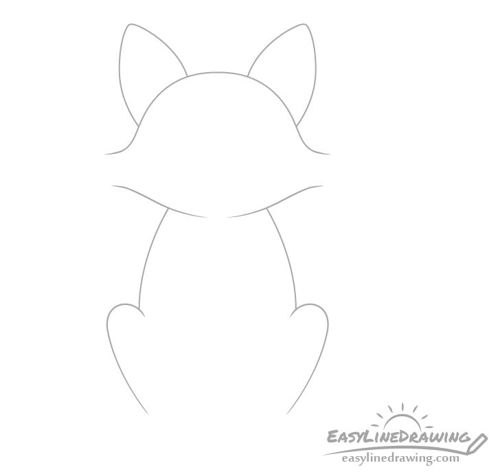 Fox body drawing