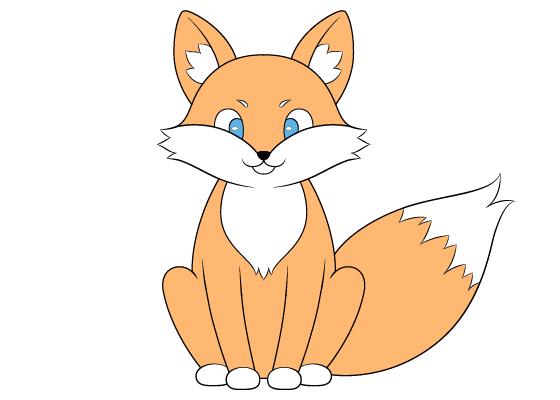Fox drawing tutorial