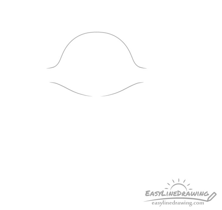 Fox head drawing
