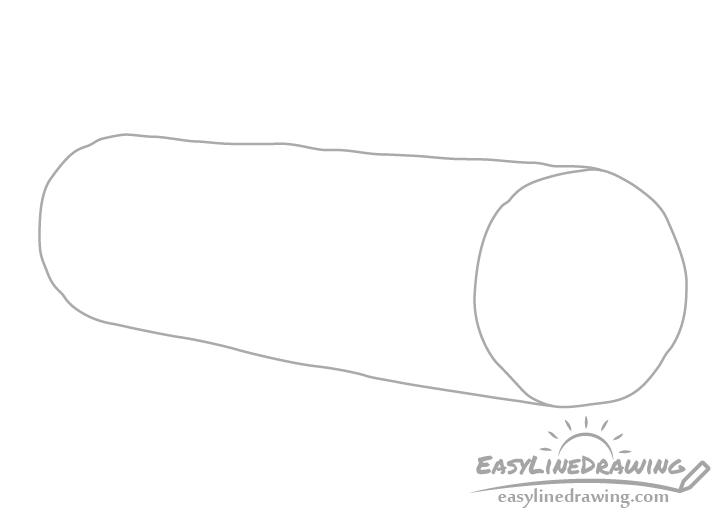 Log cuts drawing