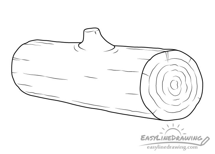 Log line drawing