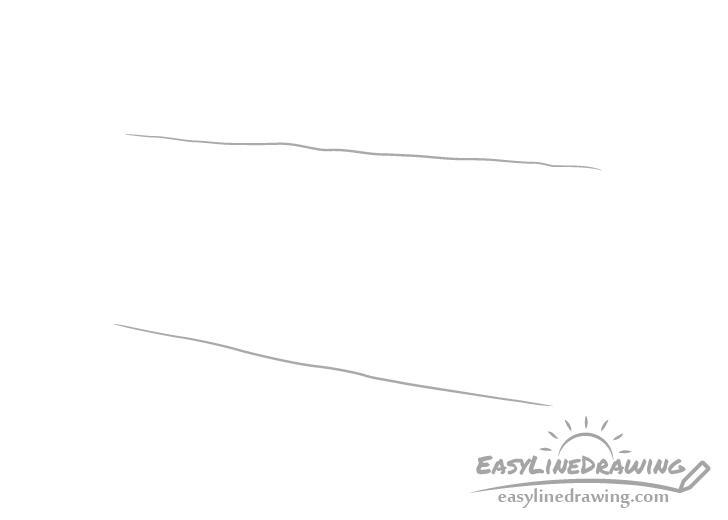 Log lines drawing