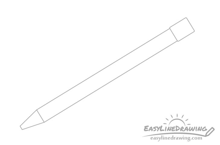 Pen back drawing
