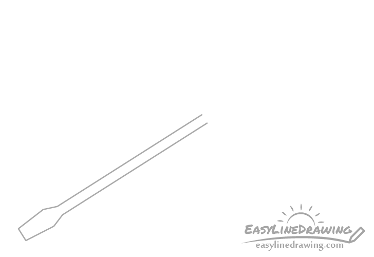 Screwdriver shank drawing