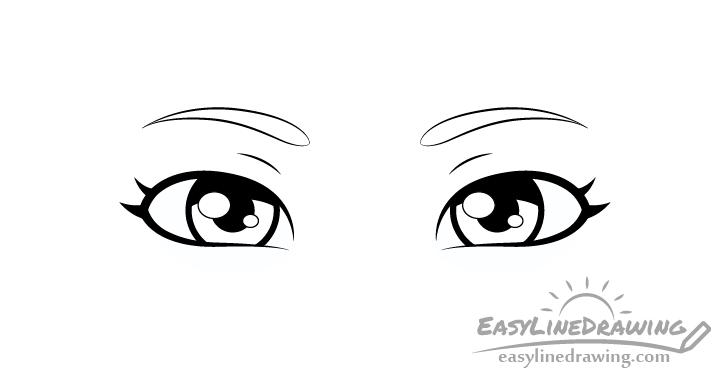 Sly eyes shading