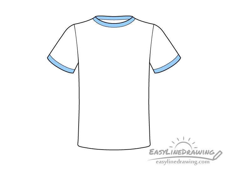T-shirt drawing