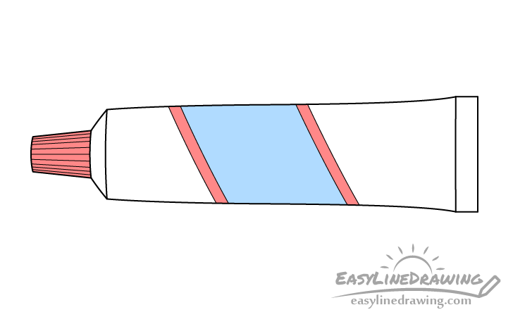 Toothpaste drawing