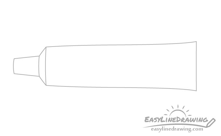 Toothpaste tube drawing