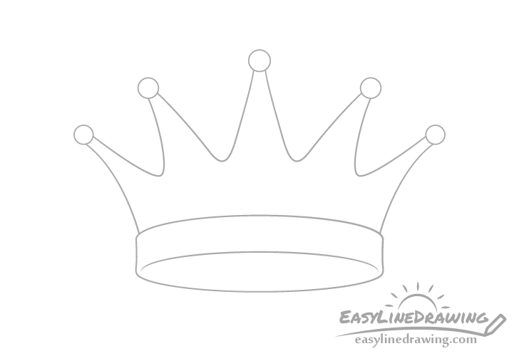 Crown tips drawing