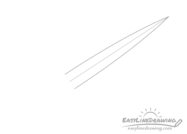 Dagger blade drawing