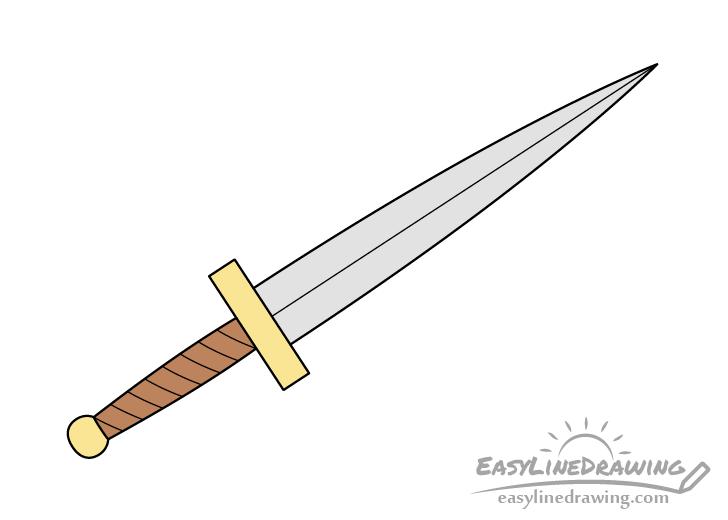 Dagger drawing