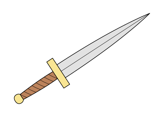 Dagger drawing tutorial