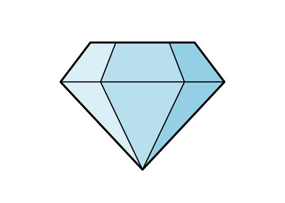 Diamond drawing tutorial