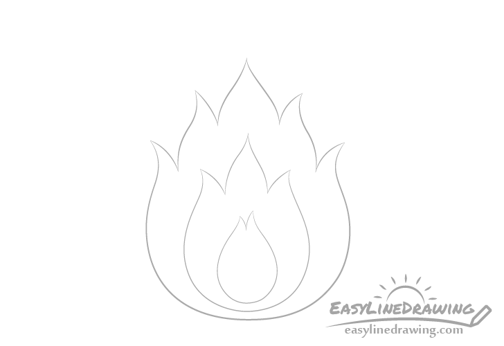 Fire center drawing