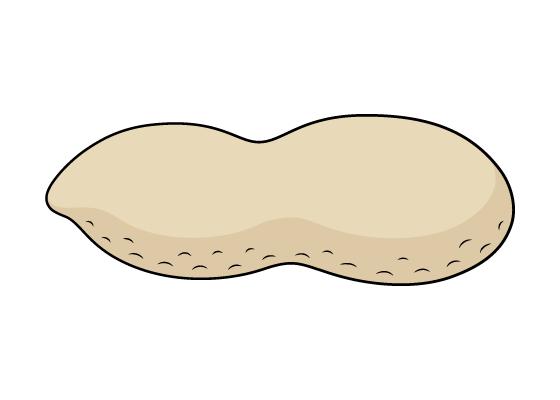 Peanut drawing tutorial