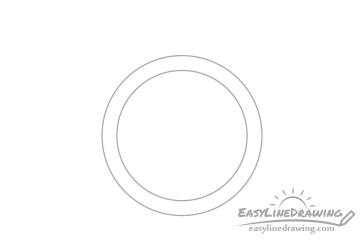 Ring band drawing