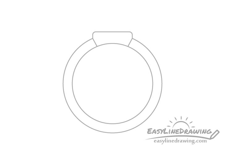 Ring head drawing