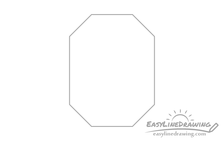Ruby outline drawing