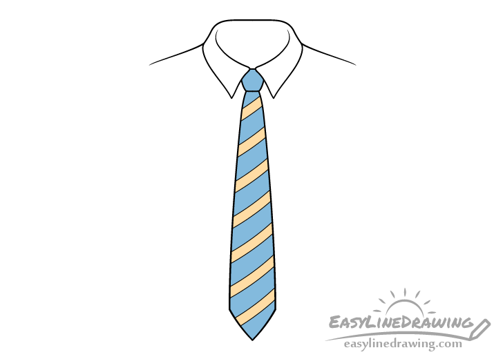 Tie drawing
