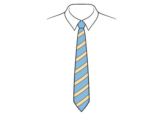 Tie drawing tutorial
