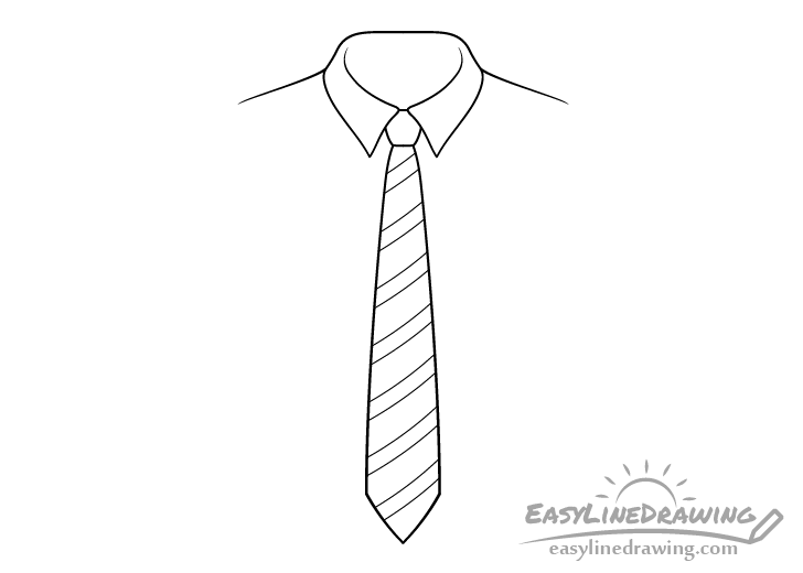 Tie line drawing