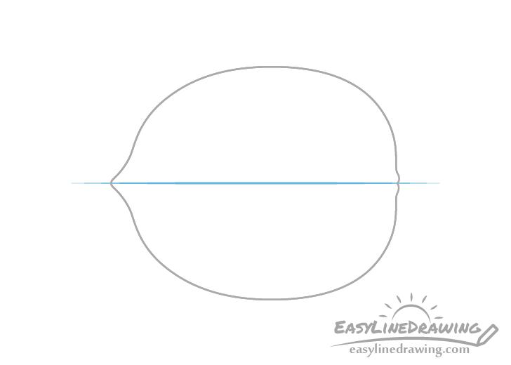 Walnut centerline drawing