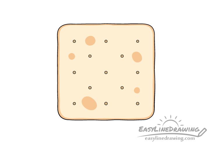 Cracker drawing