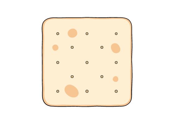 Cracker drawing tutorial