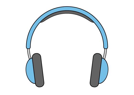 Headphones drawing tutorial